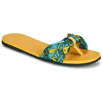 Sapatos Mulher Chinelos Havaianas YOU SAINT TROPEZ Amarelo / Ouro