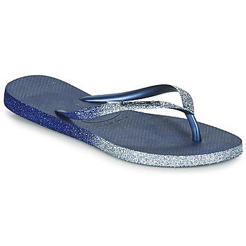 Sapatos Mulher Chinelos Havaianas SLIM SPARKLE II Marinho
