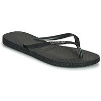 Sapatos Mulher Chinelos Havaianas SLIM SPARKLE II Preto