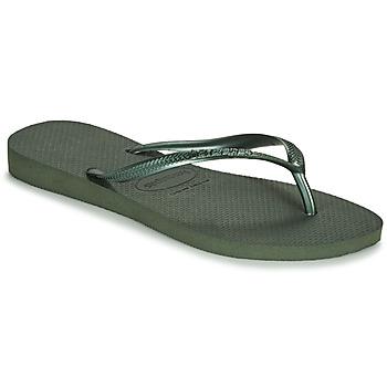 Sapatos Mulher Chinelos Havaianas SLIM Verde