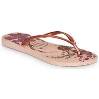 Sapatos Mulher Chinelos Havaianas SLIM ORGANIC Rosa