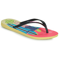 Sapatos Mulher Chinelos Havaianas SLIM STYLE MIX Amarelo