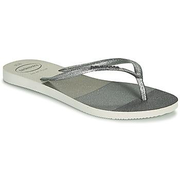 Sapatos Mulher Chinelos Havaianas SLIM PALETTE GLOW Branco