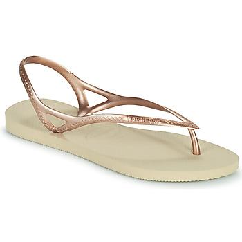 Sapatos Mulher Sandálias Havaianas SUNNY II Bege