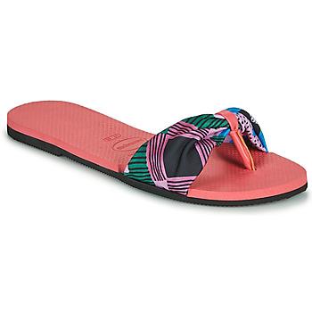 Sapatos Mulher Chinelos Havaianas YOU SAINT TROPEZ Rosa