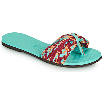 Sapatos Mulher Chinelos Havaianas YOU ST TROPEZ MESH Azul