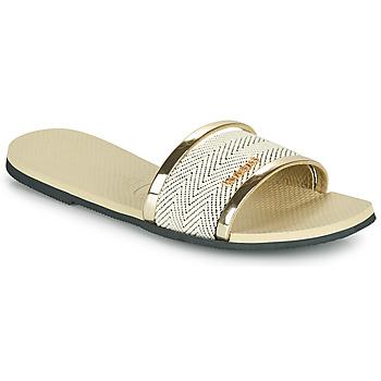 Sapatos Mulher Chinelos Havaianas YOU TRANCOSO PREMIUM Bege