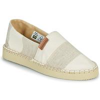 Sapatos Mulher Alpargatas Havaianas ESPADRILLE CLASSIC FLATFORM ECO Bege