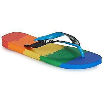 Sapatos Chinelos Havaianas TOP LOGOMANIA MULTICOLOR Multicolor