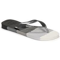 Sapatos Chinelos Havaianas TOP LOGOMANIA MULTICOLOR Preto