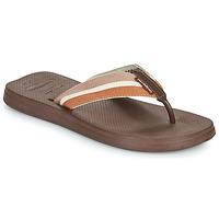 Sapatos Homem Chinelos Havaianas NEW URBAN WAY Preto / Castanho