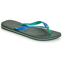 Sapatos Homem Chinelos Havaianas BRASIL MIX Preto / Azul