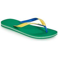Sapatos Homem Chinelos Havaianas BRASIL MIX Verde