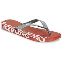 Sapatos Chinelos Havaianas TOP LOGOMANIA HIGHTECH Vermelho