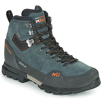 Sapatos Homem Sapatos de caminhada Millet GR4 GORETEX Cinza / Laranja