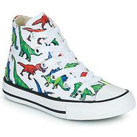 Sapatos Rapaz Sapatilhas de cano-alto Converse CHUCK TAYLOR HI Multicolor