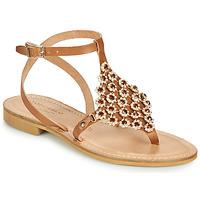 Sapatos Mulher Sandálias Tosca Blu PERLA Camel