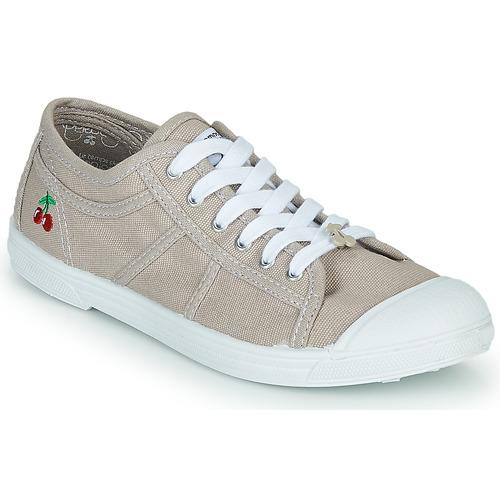 Sapatos Mulher Sapatilhas Le Temps des Cerises BASIC LACE Bege