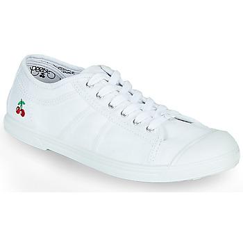 Sapatos Mulher Sapatilhas Le Temps des Cerises BASIC LACE Branco