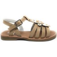 Sapatos Rapariga Sandálias D'bébé 24526-18 Castanho