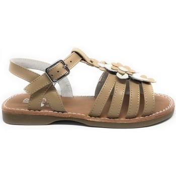 Sapatos Rapariga Sandálias D'bébé D'Bebé 11001 Camel Castanho