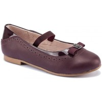 Sapatos Rapariga Sabrinas Mayoral 44113 Bailarina piel Granate Bordô