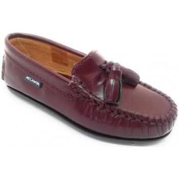 Sapatos Criança Mocassins Atlanta 24268-18 Bordô