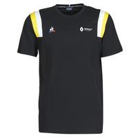 Textil Homem T-Shirt mangas curtas Le Coq Sportif RENAULT FANWEAR 20 Tee SS M Preto