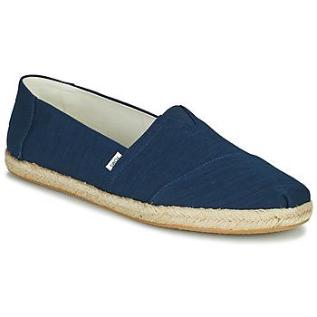Sapatos Homem Alpargatas Toms ALPARGATA ROPE Azul