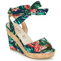 Sapatos Mulher Sandálias Les Petites Bombes BELA Multicolor
