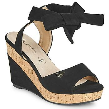 Sapatos Mulher Sandálias Les Petites Bombes BELA Preto