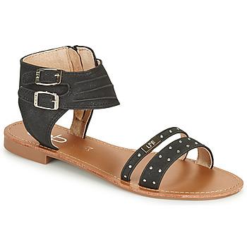 Sapatos Mulher Sandálias Les Petites Bombes BELIZE Preto