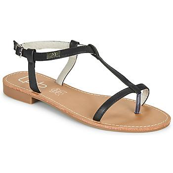 Sapatos Mulher Sandálias Les Petites Bombes BULLE Preto