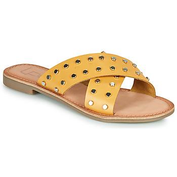 Sapatos Mulher Chinelos Les Petites Bombes BELMA Amarelo