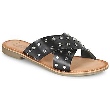 Sapatos Mulher Chinelos Les Petites Bombes BELMA Preto