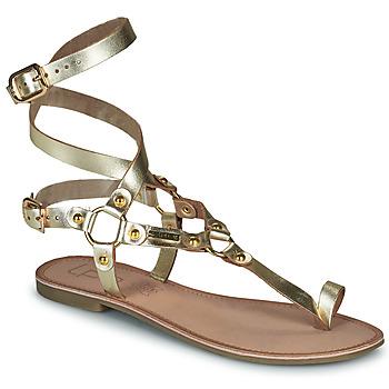 Sapatos Mulher Sandálias Les Petites Bombes BLEONA Ouro
