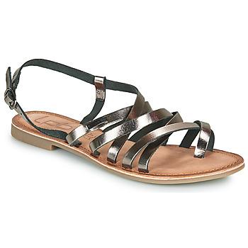 Sapatos Mulher Sandálias Les Petites Bombes BRENDA Cinza