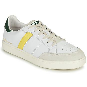 Sapatos Homem Sapatilhas Serafini WIMBLEDON Branco / Verde / Amarelo