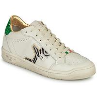 Sapatos Mulher Sapatilhas Serafini SAN DIEGO Branco / Verde