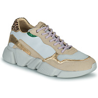 Sapatos Mulher Sapatilhas Serafini OREGON Branco / Ouro