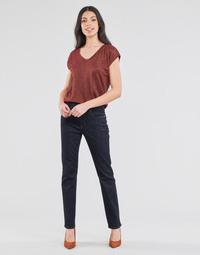 Textil Mulher Calças Jeans Lauren Ralph Lauren MIDRISE STRT-5-POCKET-DENIM Marinho