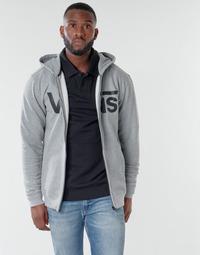 Textil Homem Sweats Vans VANS CLASSIC ZIP HOODIE Cimento / Preto