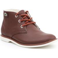 Sapatos Mulher Botas baixas Lacoste Sherbrook HI SB SPJ 7-30SPJ101177T brown