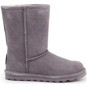 Sapatos Mulher Botas de neve Bearpaw Elle Short Cinzento