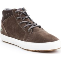 Sapatos Mulher Botas baixas Lacoste Ampthill Chukka 417 1 Caw Cinzento