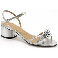 Sapatos Mulher Sandálias Parodi Passion 73/2339/03 Prata