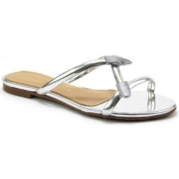 Sapatos Mulher Chinelos Parodi Passion 73/3336/06 Prata