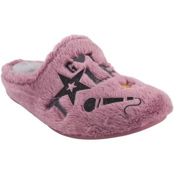 Sapatos Rapariga Chinelos Garzon Vá para casa garota  n4526.275 malva Rose