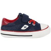 Sapatos Rapaz Sapatilhas Chika 10 Lona Marino Azul