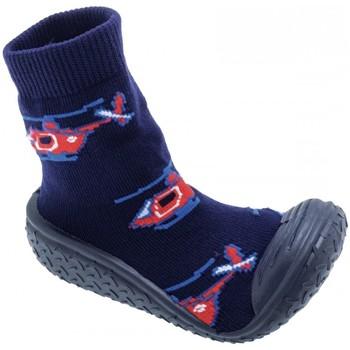 Sapatos Rapaz Chinelos Chicco MORBIDOTTI Marino Azul